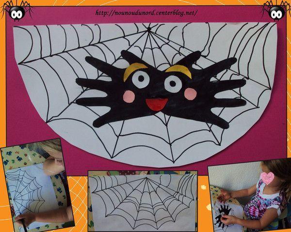 L'araignée aux empreintes de main de soline 20 mois