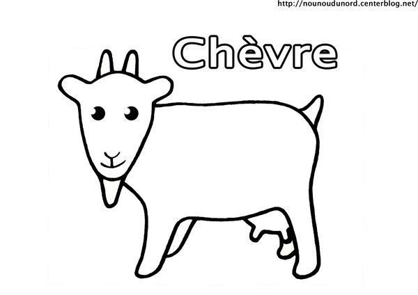 coloriage chvre