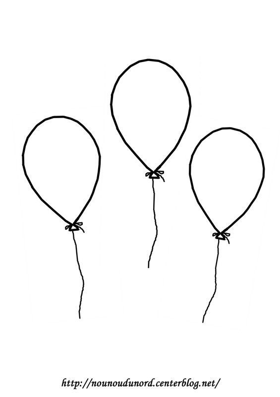 Coloriage Ballon En Coeur.Coloriage Ballon