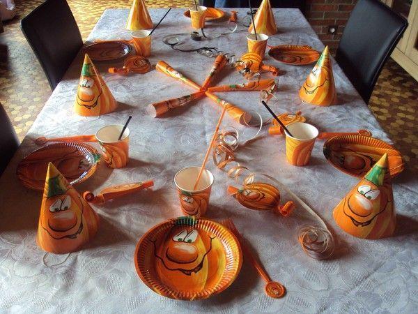 ma table pour faire le gouter d 39 halloween ann e 2009 centerblog. Black Bedroom Furniture Sets. Home Design Ideas
