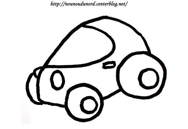 Coloriage vehicule transport - Dessiner voiture de course ...