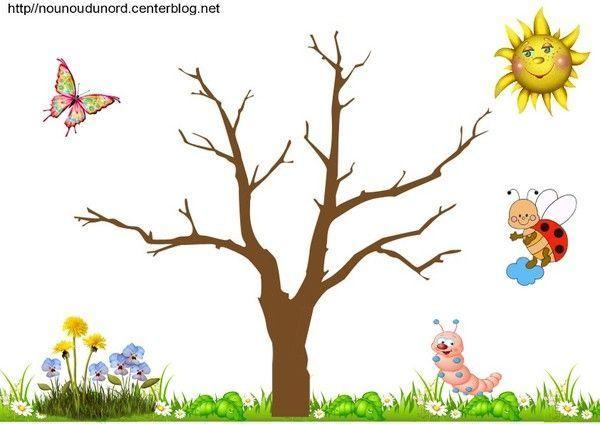 Coloriage Oiseau Arbre.Coloriage Fleurs Nature