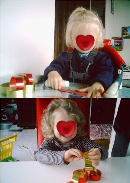 guirlande de lison et Axelle Noël 2008