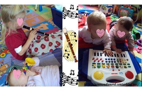 Axelle, Lison, Soline et Annalisa les futures musiciennes