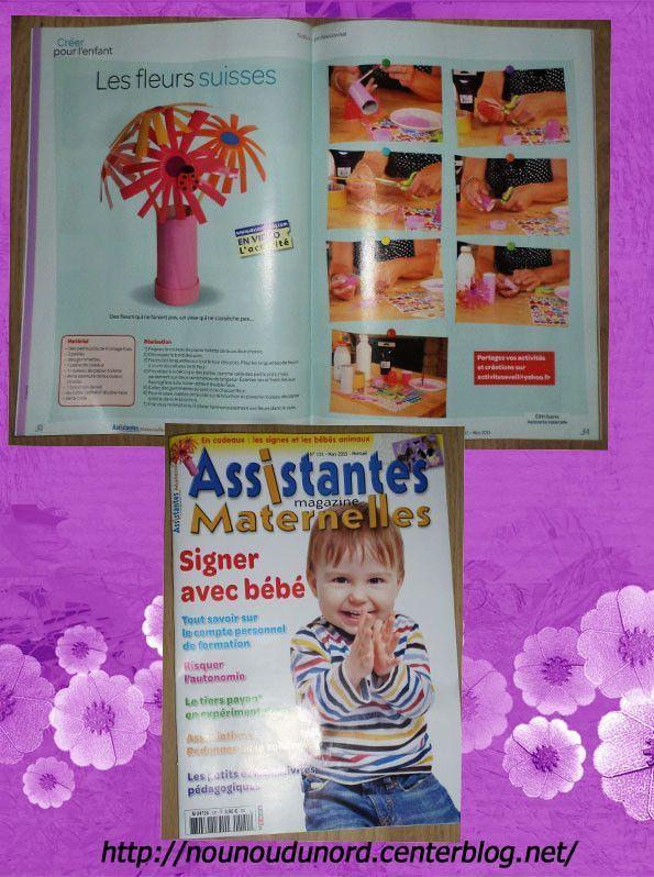 magazine assistantes maternelles N°120 du mois de Mars 2015