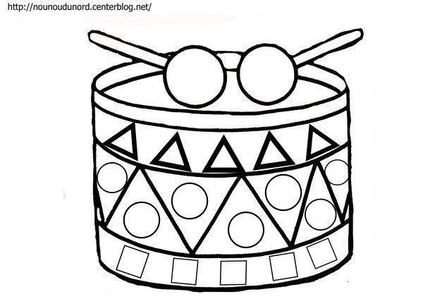 Assez coloriage musique instrument SI98