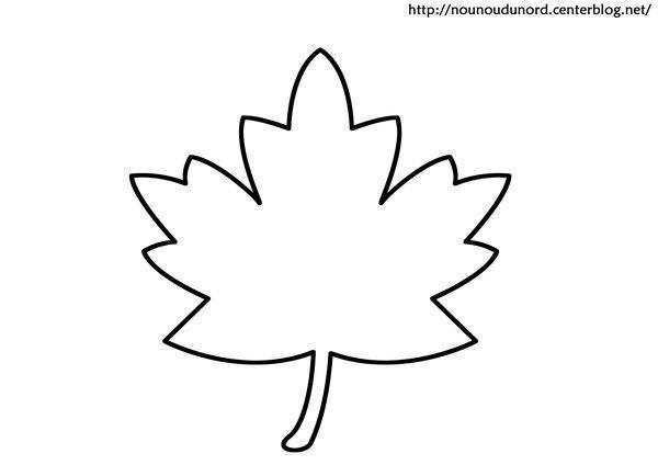 Coloriage feuille - Feuille d arbre a imprimer ...