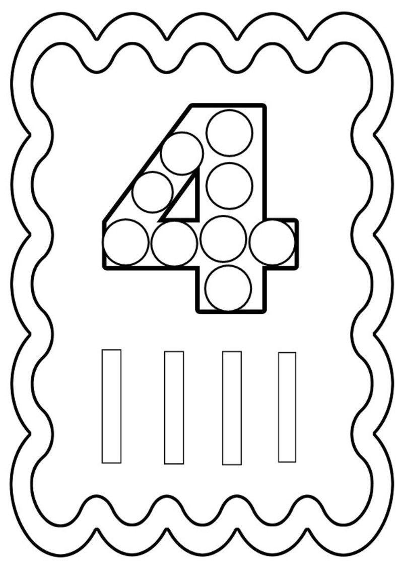 Coloriage chiffres de 0 a 10 - Dessin avec des chiffres ...