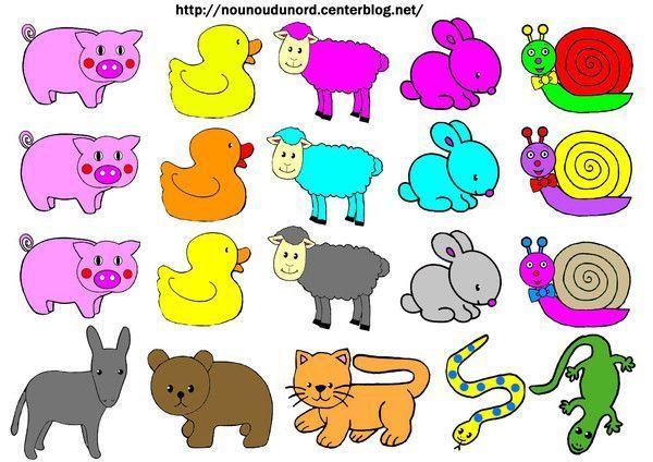 Gommettes animaux imprimer animaux a imprimer en couleur - Animaux a imprimer en couleur ...