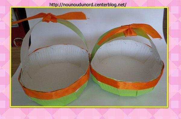 Les paniers de Pâques pour les bébés