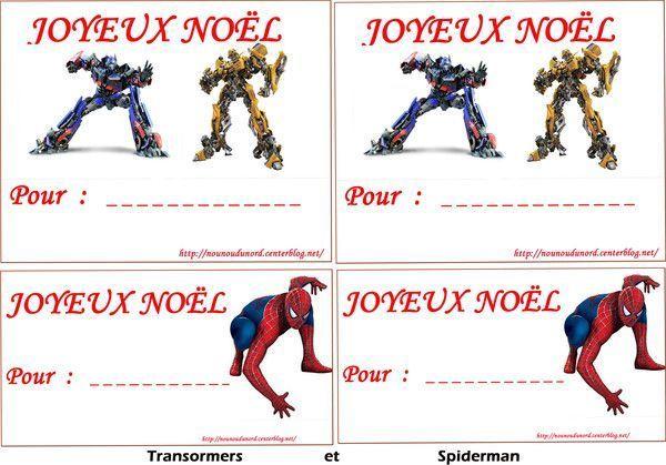 Etiquettes imprimer pour vos cadeaux de no l - Etiquette de noel a imprimer ...