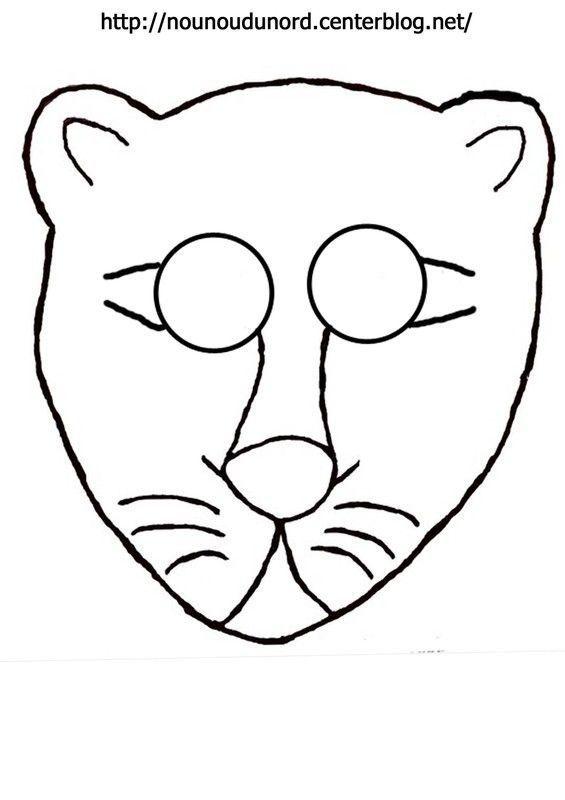 Masque lion imprimer - Images de lions a imprimer ...