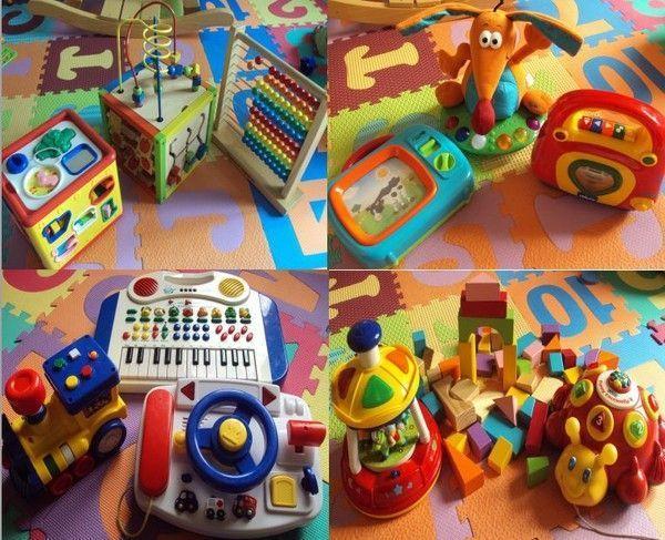 les jouets d'éveil pour les bébés