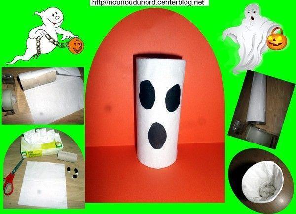 Fant me avec mouchoirs et rouleau de papier wc 2015 - Activite manuelle avec des rouleaux de papier toilette ...