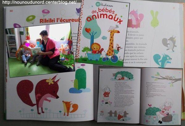 Livre 27 histoires de bébés animaux
