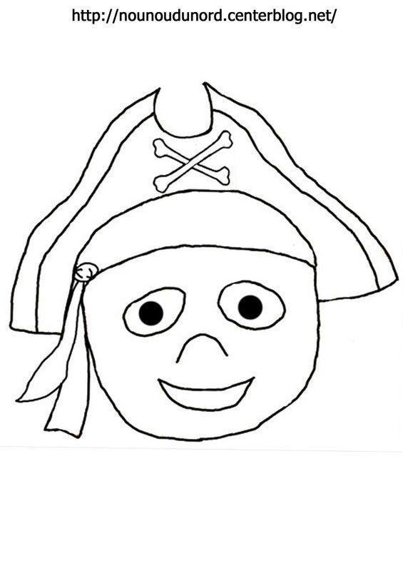 coloriage pirate dessin par nounoudunord - Dessin De Pirate