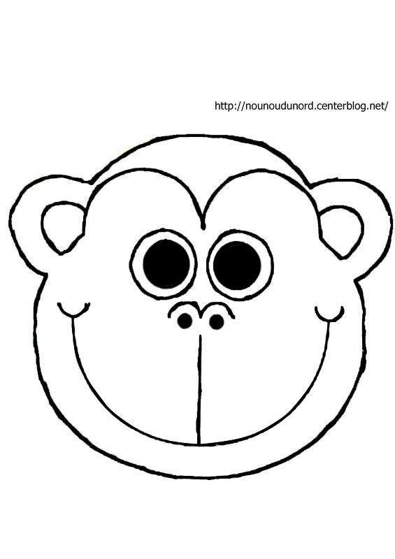 singe dessiné par nounoudunord
