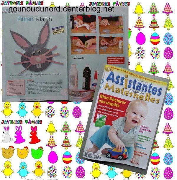 magazine assistantes maternelles N°122 du mois de Avril 2015