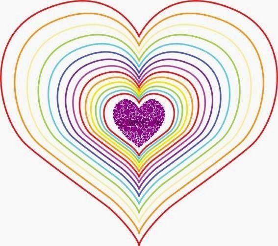 Coloriage coeurs st valentin page 3 - Coeur en dessin ...