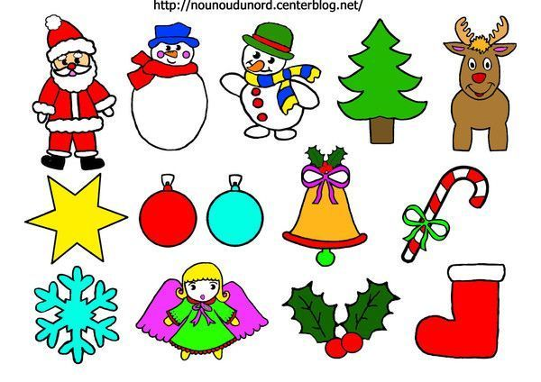 Gommettes de Noël 1