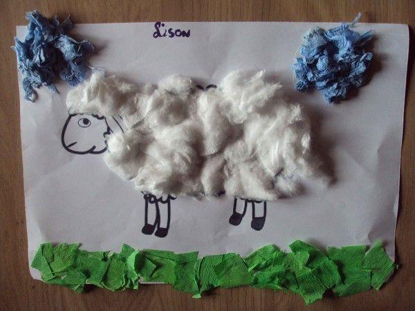 Le mouton de Lison est terminé