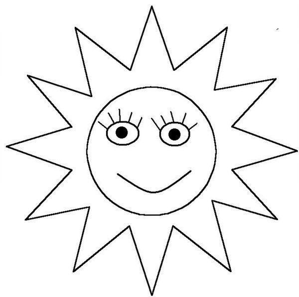 Coloriage soleil - Dessin de soleil a imprimer ...