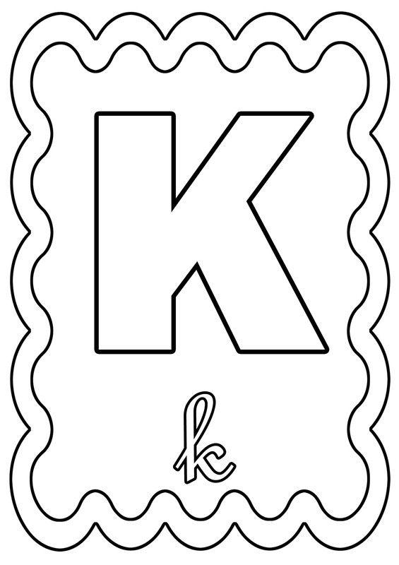 Coloriage Alphabet Lettre De A A Z Page 2