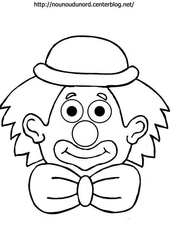Coloriage Clown Garcon.Coloriage Clown Page 3