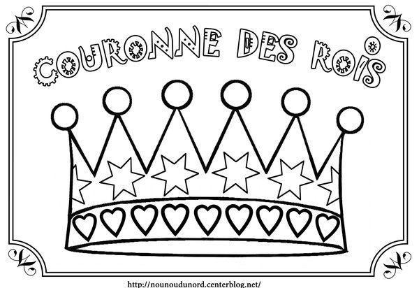 Coloriage galette des rois epiphanie page 2 - Coloriage couronne ...