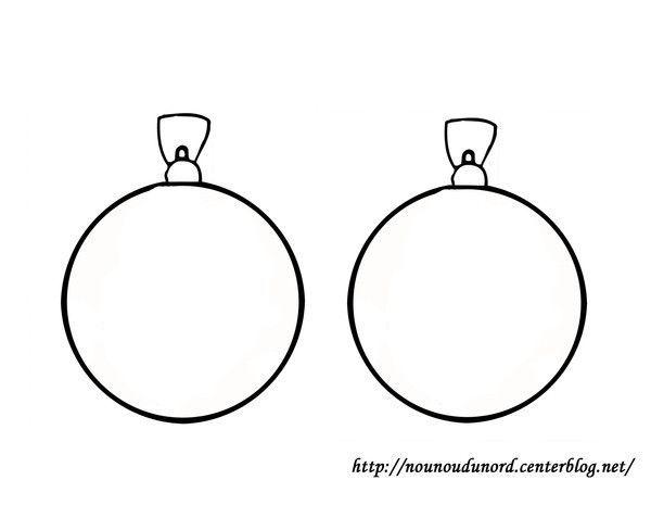 Coloriage noel boules - Dessin guirlande de noel ...