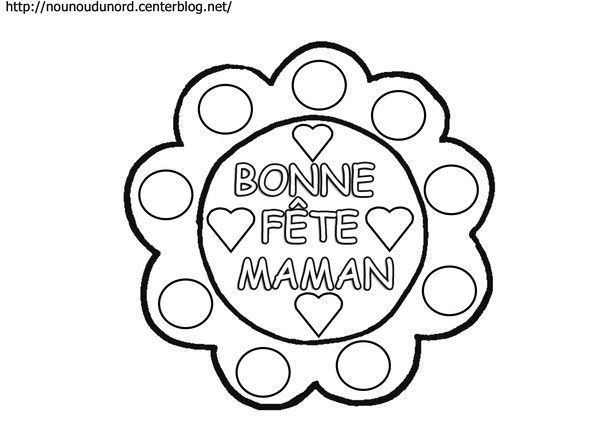 Top poemes gifs coloriages fete des meres SO89