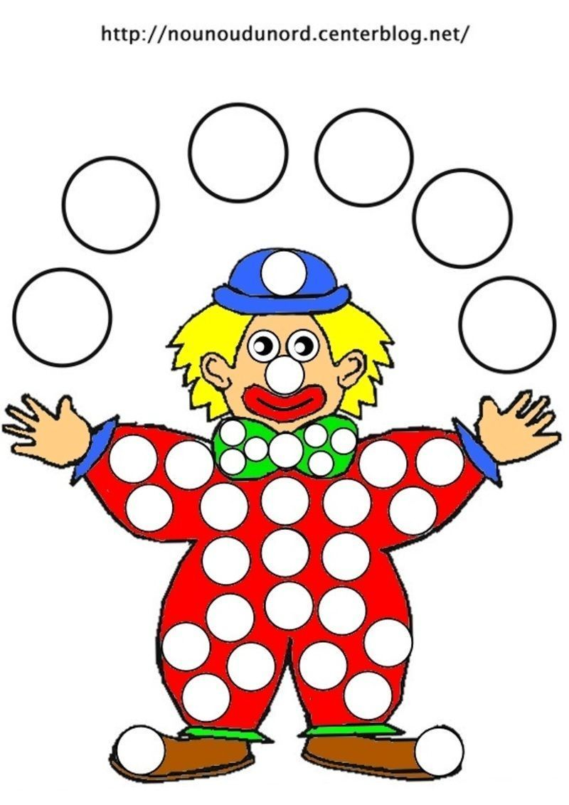 Coloriage clown - Coloriage clown a imprimer ...
