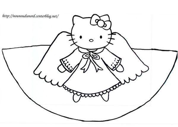 Coloriage cone hero des enfants - Coloriage hello kitty fleurs ...