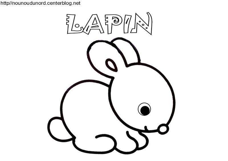 Coloriage paques gommettes - Coloriage a imprimer lapin ...