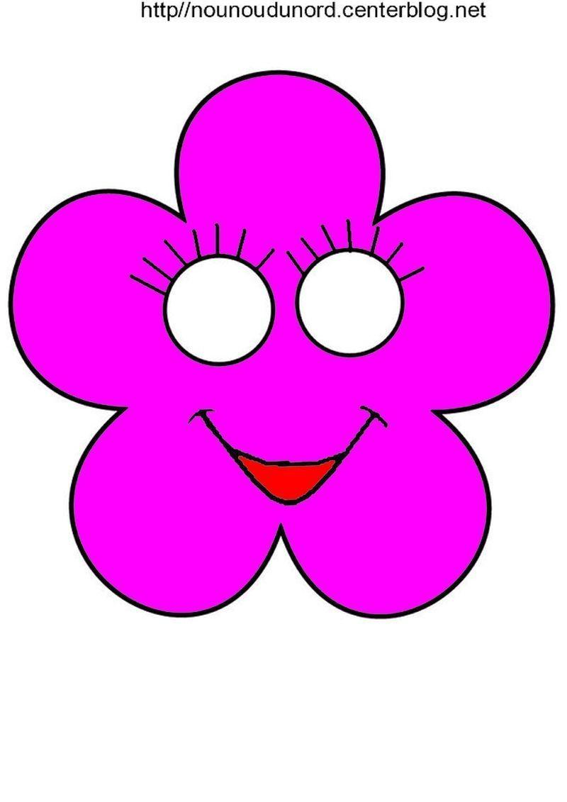 Masque fleur imprimer - Photo de fleur a imprimer ...
