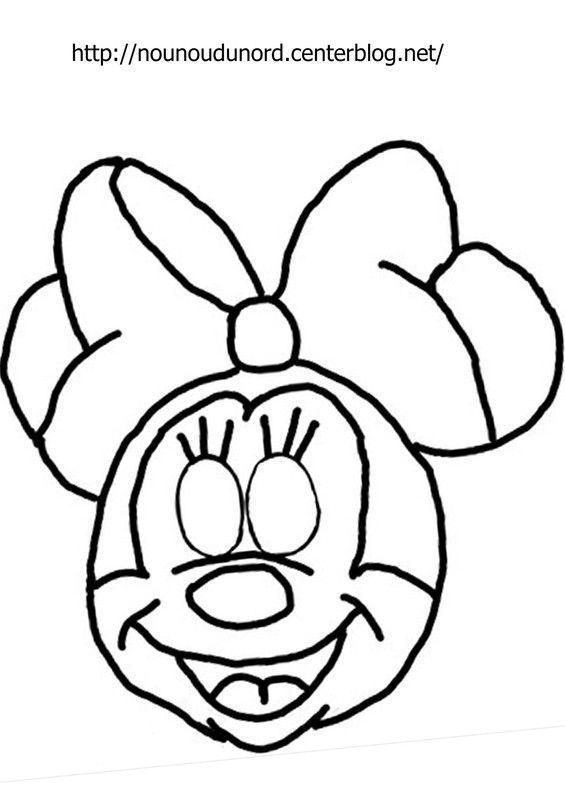 Masque minnie imprimer - Minnie a imprimer ...