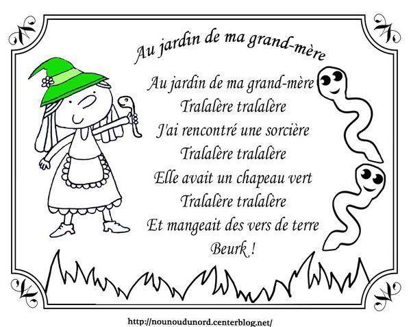 Coloriage halloween comptine - Bricolage au jardin 100 realisations pratiques et faciles ...