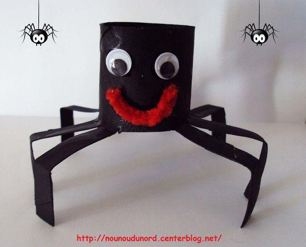 araign e pour halloween r alis e par axelle 2010. Black Bedroom Furniture Sets. Home Design Ideas