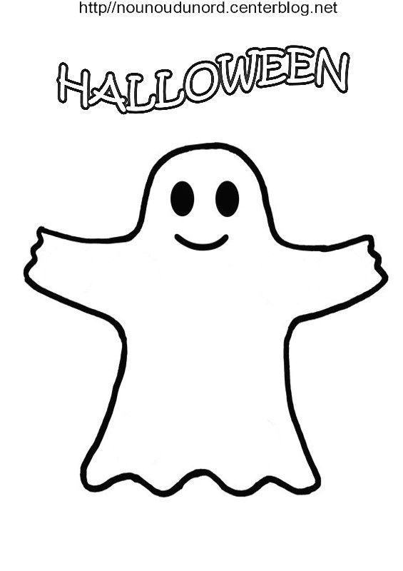Coloriage halloween fantome - Coloriage fantome halloween ...