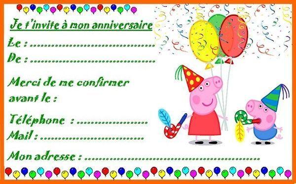 Coloriage Paques Peppa Pig.Etiquettes Invitations Peppa Pig Pour Anniversaire