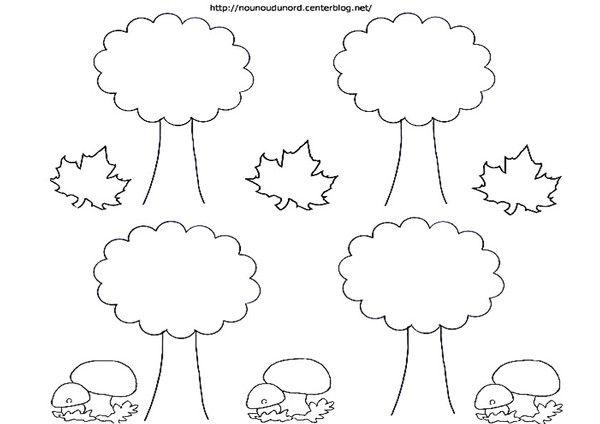 Coloriage d 39 automne les arbres dessin s par nounoudunord - Arbre d automne dessin ...