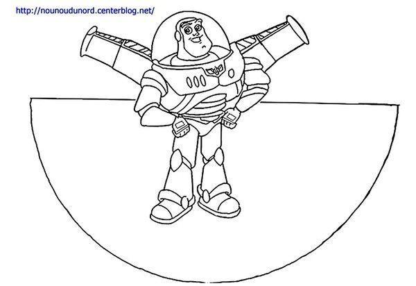 C ne colorier buzz l 39 clair de toy story - Buzz a colorier ...