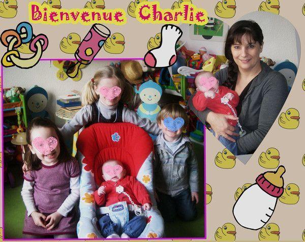Premier jour pour Charlie  chez nounoudunord