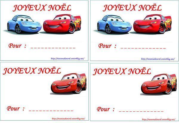 des étiquettes à imprimer pour vos cadeaux de Noël