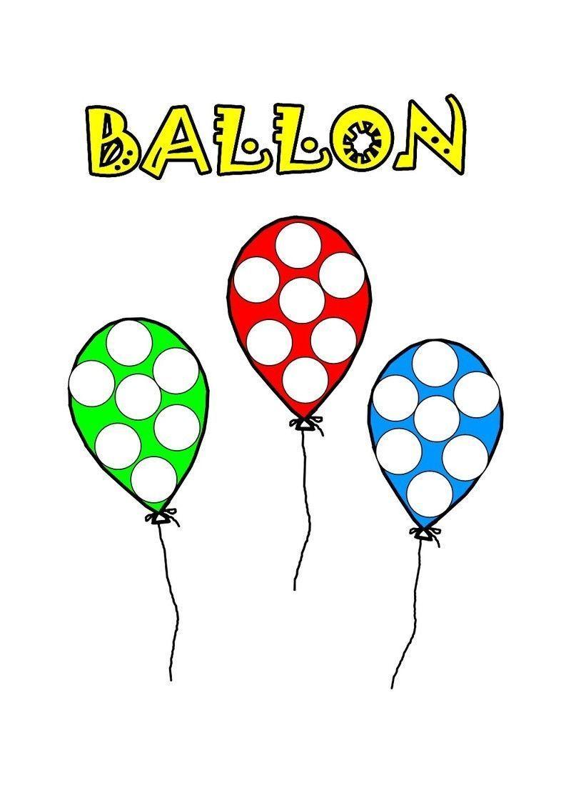 ballon a gommette en couleur5