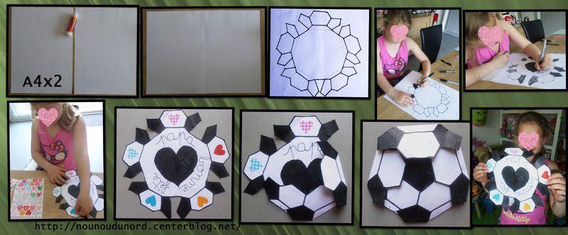 carte ballon de foot pour la f te des p res d 39 axelle. Black Bedroom Furniture Sets. Home Design Ideas