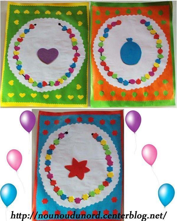 Des colliers colorés réalisés avec des perforatrices