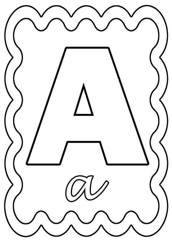 Coloriage Alphabet Francais.Coloriage Alphabet Lettre De A A Z