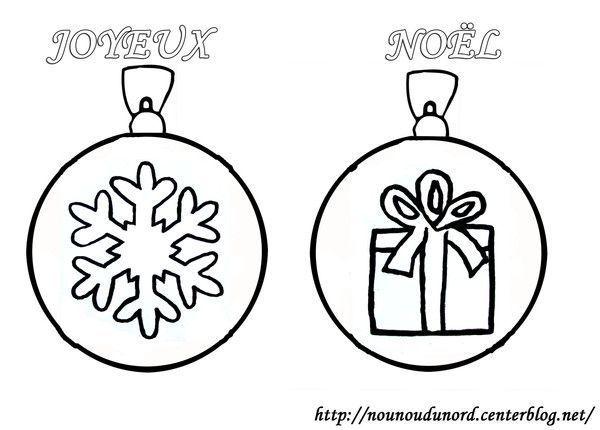 Preview - Images boules de noel a colorier ...