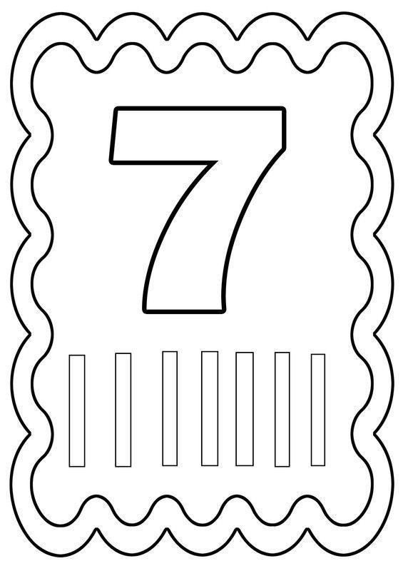 Coloriage chiffre 7 dessiné par nounoudunord